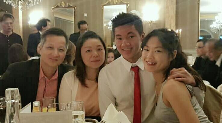 Pastor Patrick Tsang and family